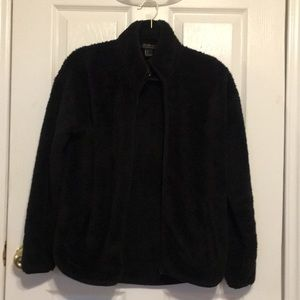FOREVER 21 FUZZY JACKET/SWEATER